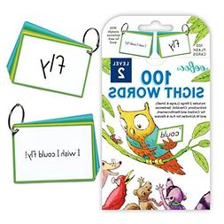 100 sight words flash cards