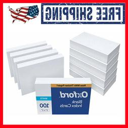 1000 Count Blank cards perfect for flash study notes Index C