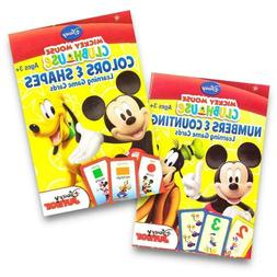 2 new packs mickey flash cards colors