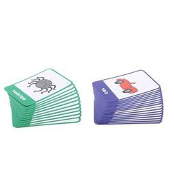 2 Set Child Flash Cards Insects Vehicle Shape Words Preschoo