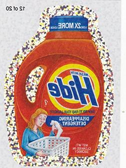 "2010 Wacky Packages All New Series 7  ""HIDE DETERGENT"" #12 F"