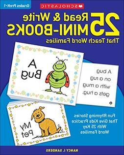 25 Read & Write Mini-Books That Teach Word Families: Fun Rhy