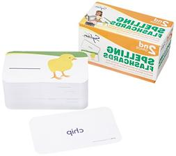 2nd Grade Spelling Flashcards: 240 Flashcards for Building B