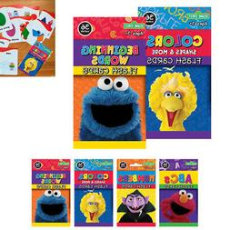 2Pk Flash Cards Sesame Street Early Learning Games Colors Sh