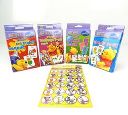 4 Disney Learning Flash Cards Sets Age 3+, 36 Cards/Pk, + FR