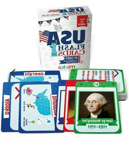 45 Presidents And 50 States Flash Cards