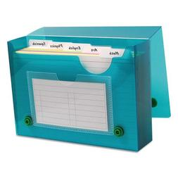 C-Line 58046 Index Card Case, Holds 200 4 x 6 Cards, Polypro