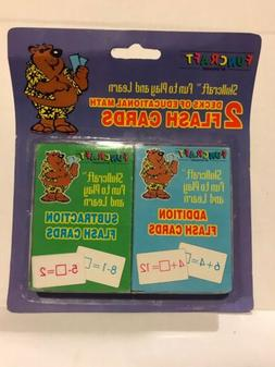 68 pieces total math flash cards