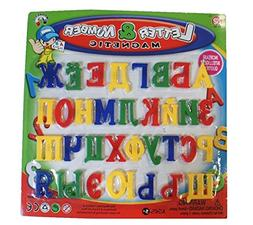 9Snail 33 pcs. Russian Alphabet Letters Fridge Magnets, Baby