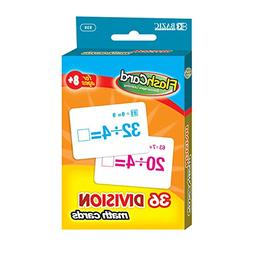 BAZIC Division Flash Cards , Case of 24