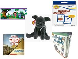 Children's Gift Bundle - Ages 3-5  - Mead Flashcards Alphabe