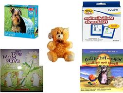 Children's Gift Bundle - Ages 3-5  - Mead Flashcards Multipl