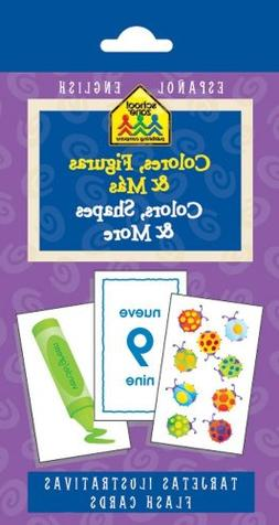 Colors, Shapes and More Flash Cards - Bilingual