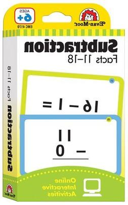 Constructive Playthings 4170 Flashcards - Subtraction Facts