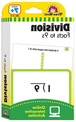 Constructive Playthings 4172 Flashcards - Division Facts to