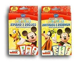 Disney Mickey Mouse Clubhouse Flash Cards Set - Featuring nu