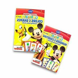Disney Mickey Mouse Clubhouse Flash Cards . Colors & Shapes