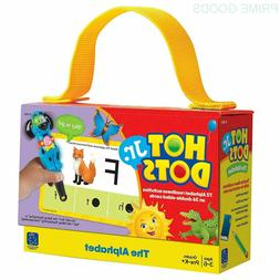Educational Insights Hot Dots Jr. The Alphabet Card Set
