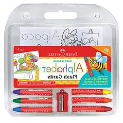 Faber-Castell Color and Learn Alphabet Flash Cards - ABC Fla