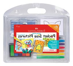 Faber-Castell Young Artist Pocket Size Pictures, 30 Coloring