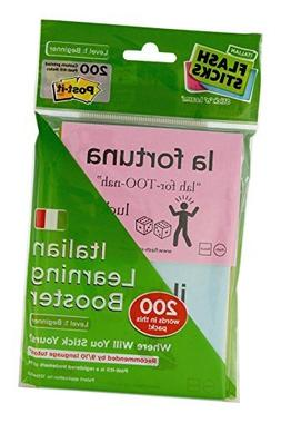Flashsticks Italian Beginner Post-it Notes  | Fun and Effect