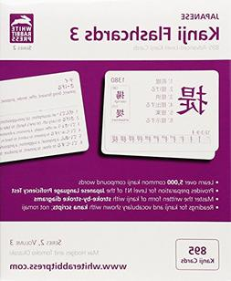 Japanese Kanji Flashcards, Series 2 Volume 3