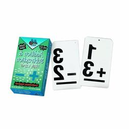 Learning Advantage Ctu8662 Double Value Vertical Flash Cards