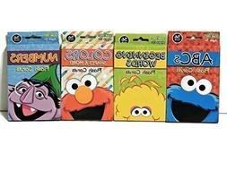 Sesame Street Educational Flash Cards for Early Learning. Se