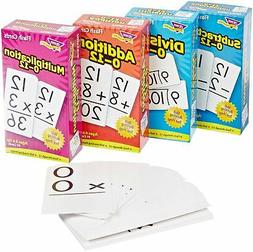 Trend Enterprises Math Operations Flash Cards Pack - Set of