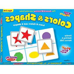 Trend T58103 Trend Colors and Shapes Match Me Game, Ages 3-6