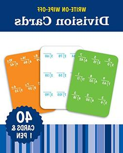 Write-On Wipe-Off Division Cards