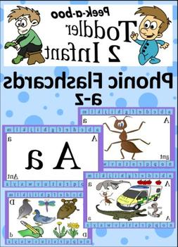 A - Z Phonic Flash Cards   Book 3)