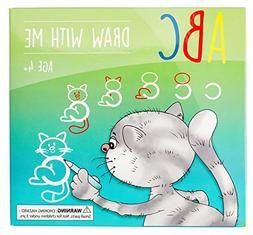 ABC Draw With Me | Wipe Clean Alphabet Flash Cards | Great B