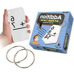 Star Right Addition Flash Cards