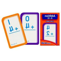 Addition Flash Cards 0 to 12 Learning Math Game for Kids, Te