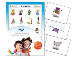 Adjectives Flashcards in Spanish Language - Set 2 - Flash Ca