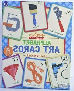 Eeboo Alphabet Art Cards-Hardware-Flash Cards-New/Sealed-Edu