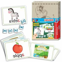 Alphabet Flash Cards For Kids ABC Early Learning Educational