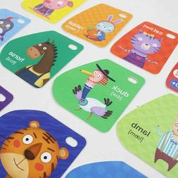 Animals Words Natural Careers Flashcard For Kids Toddler Edu