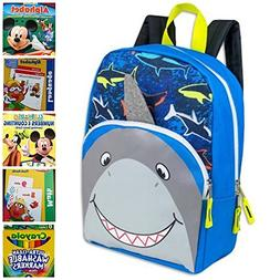 Kids Backpack Bundle Shark Critter with Flash Cards and Work