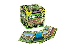 Brainbox 'DINOSAURS' Card Game-Includes 52 cards, timer, 8-s