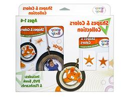 Brainy Baby Flash Cards, DVD and Board Book Shapes and Color