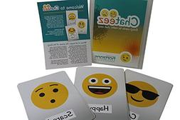 Original Chateez Cards – 25x Full-Size Pack of Emoji Expre