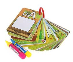 Chidren's Early Education Cognitive Cards,Reusable Water R