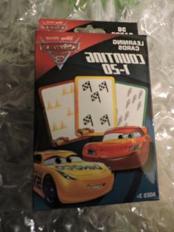 COUNTING 1-20 Flash Cards, Disney Pixar CARS, Learning 36 Ca