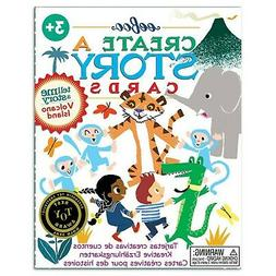 eeBoo Create and Tell Me A Story Cards, Volcano Island