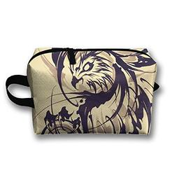 Creative Tattoo Pattern Cosmetic Bags Makeup Organizer Bag P