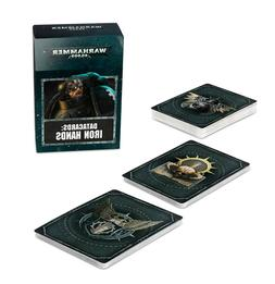 Data Cards: Iron Hands Warhammer 40k Pre-Order Ships FREE 9/