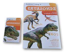 Dinosaurs Discovery Workbook with Reward Stickers and Flash