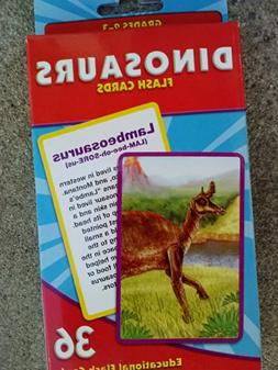 Dinosaurs Flash Cards